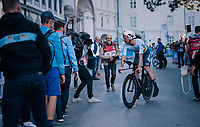 Victor Campenaerts (BEL/Lotto-Soudal) putting in another stellar ride and finishing a super 3rd<br /> <br /> MEN ELITE INDIVIDUAL TIME TRIAL<br /> Hall-Wattens to Innsbruck: 52.5 km<br /> <br /> UCI 2018 Road World Championships<br /> Innsbruck - Tirol / Austria