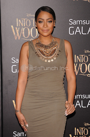 New York,NY-December 8: La La Anthony Attends the 'Into The Woods' world premiere at the Ziegfeld Theater on December 8, 2014. Credit: John Palmer/MediaPunch