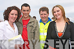 DAY OUT: Having a great time at Beal Ban strand horse racing on Sunday in Ballyferriter were l-r: Mairead Ni Shuilleabhain, Thomas O Lubhaing, Seamus O Laoithe agus Ester Ni Shuilleabhain.   Copyright Kerry's Eye 2008