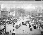 Frederick Stone negative. Bank St., 1922.