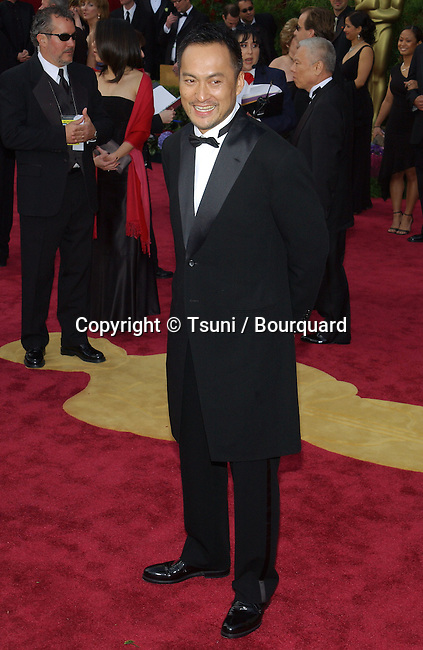 Ken Watanabe  arriving at the 76th Academy Awards - Oscars 2004 - at the Kodak Theatre in Los Angeles. February 29, 2004.