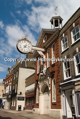Rochester Kent UK.  The Corn Exchange in the High Street.