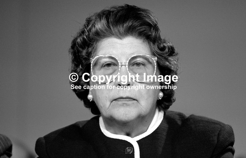 Baroness Trumpington, life peer, Conservative Party, UK, 19871037BT..Copyright Image from Victor Patterson, 54 Dorchester Park, Belfast, UK, BT9 6RJ..Tel: +44 28 9066 1296.Mob: +44 7802 353836.Voicemail +44 20 8816 7153.Skype: victorpattersonbelfast.Email: victorpatterson@me.com.Email: victorpatterson@ireland.com (back-up)..IMPORTANT: If you wish to use this image or any other of my images please go to www.victorpatterson.com and click on the Terms & Conditions. Then contact me by email or phone with the reference number(s) of the image(s) concerned.