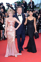 "Jane Fonda, Alec Baldwin and  Hilaria Thomas attending the ""Moonrise Kingdom"" Premiere during the 65th annual International Cannes Film Festival in , 16th May 2012...Credit: Timm/face to face /MediaPunch Inc. ***FOR USA ONLY***"