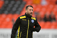 16th November 2019; Tannadice Park, Dundee, Scotland; Scottish Championship Football, Dundee United versus Queen of the South; Stephen Dobbie of Queen of the South during the warm up before the match  - Editorial Use