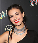 "Victoria Justice Attends Refinery29'S Opening Night of ""29Rooms: Powered by People"" During NYFW Held in Brooklyn, NY"