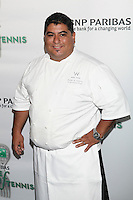 Chef Peter Andino of Heartbeat attends the 13th Annual 'BNP Paribas Taste of Tennis' at the W New York.  New York City, August 23, 2012. © Diego Corredor/MediaPunch Inc. /NortePhoto.com<br />