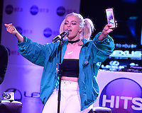 FORT LAUDERDALE , FL - AUGUST 09: Bebe Rexha during Hits 97.3 Sessions at Revolution on August 9, 2016 in Fort Lauderdale, Florida. CrediMPI04 / MediaPunch