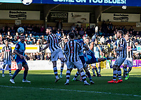 Will De Havilland of Wycombe Wanderers overhead kick during the Sky Bet League 2 match between Wycombe Wanderers and Notts County at Adams Park, High Wycombe, England on the 25th March 2017. Photo by Liam McAvoy.