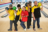 Biran Storm, bowling and tribute to Mark Edelson at The Kalish 25 at RIT in Rochester, NY.<br /> [WILLIE J. ALLEN JR.]