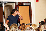 Dominic Zamprogna & fans - General Hospital actors came to Uncle Vinny's/Ferraras at the Crown Plaza in Trevose, Pennsylvania on April 22, 2010 to see fans with a q & a and autographs and taking of photos. (Photo by Sue Coflin/Max Photos0