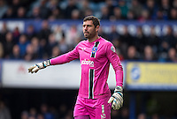 Goalkeeper Paul Jones of Portsmouth during the Sky Bet League 2 match between Portsmouth and Wycombe Wanderers at Fratton Park, Portsmouth, England on 23 April 2016. Photo by Andy Rowland.