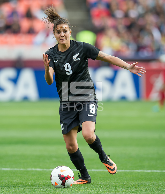 SAN FRANCISCO, CA - October 27, 2013:  during the US Women's National Team vs New Zealand match in Candelstick Park in San Francisco, CA. Final score US Women's National Team 4, New Zealand 1.