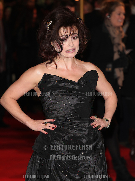 Helena Bonham Carter arriving for the premiere of 'Les Miserables' at Leicester Square, London. 05/12/2012 Picture by: Alexandra Glen / Featureflash
