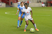 Chicago, IL - Wednesday Sept. 07, 2016: Tiffany McCarty during a regular season National Women's Soccer League (NWSL) match between the Chicago Red Stars and FC Kansas City at Toyota Park.