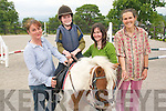 SWEET SUCCESS: Pictured at the Kenmare Special Needs Group Ltd Riding For The Disabled were Helen Joyce, Emma Browne, Lucy Browne and Siobhan Naughton..   Copyright Kerry's Eye 2008