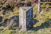 The Grey Stone of Trough, at the head of the pass, marks the line of the pre-1974 county boundary between Lancashire and the West Riding of Yorkshire.