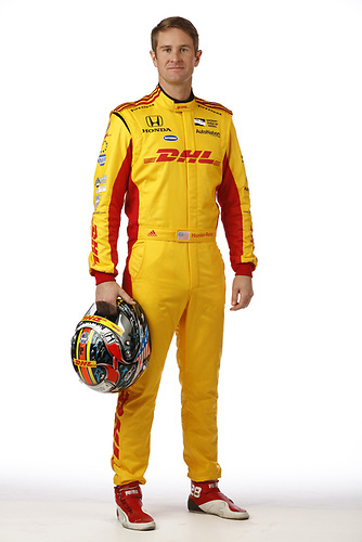 2018 IndyCar Media Day - Driver portraits<br /> Phoenix Raceway, Avondale, Arizona, USA<br /> Wednesday 7 February 2018<br /> Ryan Hunter-Reay, Andretti Autosport Honda<br /> World Copyright: Michael L. Levitt<br /> LAT Images<br /> ref: Digital Image