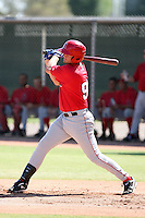 Dillon Baird - Los Angeles Angels - 2010 Instructional League.Photo by:  Bill Mitchell/Four Seam Images..