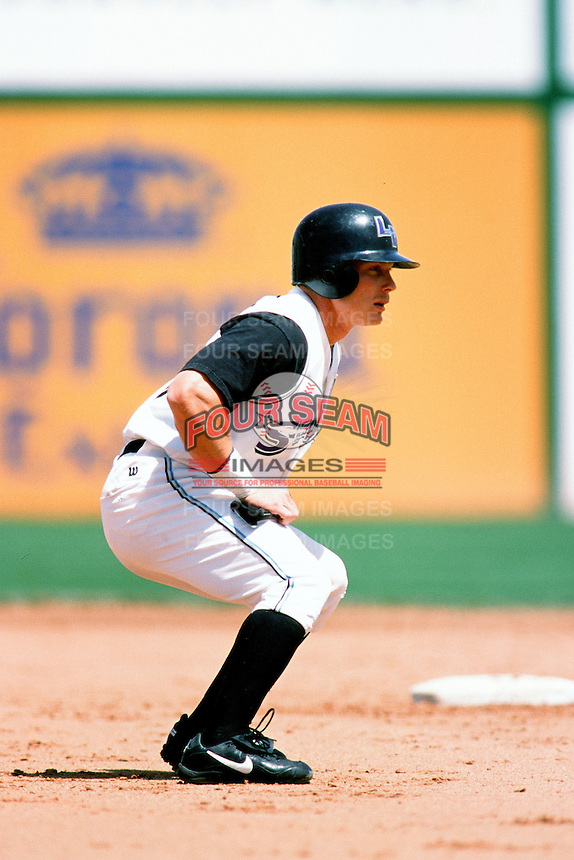 Aaron Guiel of the Las Vegas Stars during a game at Cashman Field circa 1999 in Las Vegas, Nevada. (Larry Goren/Four Seam Images)