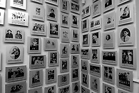 Auschwitz / Poland 2011.Nazi concentration camp Auschwitz I. One room of the Museum with pictures of the young victims deported from France..Photo Livio Senigalliesi