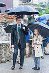 King Felipe VI and Princess of Asturias Leonor during the visit to Asiego, the village who won the 'Exemplary Village Award' 2019. October 19, 2019 (Alterphotos/ Francis Gonzalez)