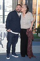 Actors Pepon Nieto and Terele Pavez pose during `Mi gran noche´ film presentation in Madrid, Spain. February 20, 2015. (ALTERPHOTOS/Victor Blanco) /NORTEphoto.com