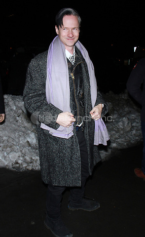 NEW YORK, NY - JANUARY 11: John Cameron Mitchell arriving at the IFC Films premiere of Freak Show at the Landmark Sunshine Cinema in New York City on January 10, 2018. Credit: RW/MediaPunch