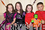 SPOOKY: Some of the children enjoying the Halloween Party at the Maine Valley Family Centre on Friday were l-r: Louise O'Dowd, Mary Courtney, Michelle O'Dowd and Seamus O'Brien.