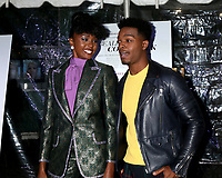 """LOS ANGELES - DEC 4:  Kiki Layne, Stephan James at the """"If Beale Street Could Talk"""" Screening at the ArcLight Hollywood on December 4, 2018 in Los Angeles, CA"""