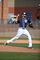 Tyson Ross - San Diego Padres 2016 spring training (Bill Mitchell)