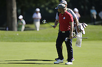 J.B. Holmes (Team USA) on the 6th fairway during the Friday afternoon Fourball at the Ryder Cup, Hazeltine national Golf Club, Chaska, Minnesota, USA.  30/09/2016<br /> Picture: Golffile | Fran Caffrey<br /> <br /> <br /> All photo usage must carry mandatory copyright credit (&copy; Golffile | Fran Caffrey)