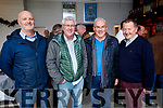 Pictured Tralee Rugby Club Christmas lunch in conjunction with Donal Walsh Live Life Foundation, on Sunday afternoon last were l-r: George Emerson, Mike McSweeney, Seamus McLoughlin and John Murray.