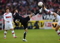 FUSSBALL   1. BUNDESLIGA  SAISON 2012/2013   9. Spieltag   VfB Stuttgart - Eintracht Frankfurt      28.10.2012 Takashi Inui (Eintracht Frankfurt) am Ball