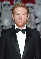 "Domhall Gleeson<br /> arriving for the ""Star Wars: The Last Jedi"" film premiere at the Royal Albert Hall, London.<br /> <br /> <br /> ©Ash Knotek  D3363  12/12/2017"