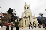 Shimla is the capital city of Himachal Pradesh. In 1864, Shimla was declared the summer capital of the erstwhile British Raj in India. A popular tourist destination, Shimla is often referred to as the &quot;Queen of Hills&quot; .The city is famous for its buildings styled in tudorbethan and neo-gothic architecture reminiscent of the colonial era, March 24, 2009.<br />