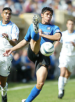 24 October 2004: Brian Ching in action against Wizards at Spartan Stadium in San Jose, California.   Earthquakes defeated Wizards, 2-0.  Credit: Michael Pimentel / ISI