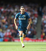 West Ham United's Lucas Perez<br /> <br /> Photographer Rob Newell/CameraSport<br /> <br /> The Premier League - Arsenal v West Ham United - Saturday August 25th 2018 - The Emirates - London<br /> <br /> World Copyright © 2018 CameraSport. All rights reserved. 43 Linden Ave. Countesthorpe. Leicester. England. LE8 5PG - Tel: +44 (0) 116 277 4147 - admin@camerasport.com - www.camerasport.com