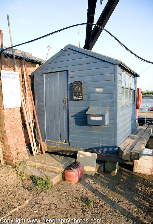 Old quayside shed, Woodbridge, Suffolk, England