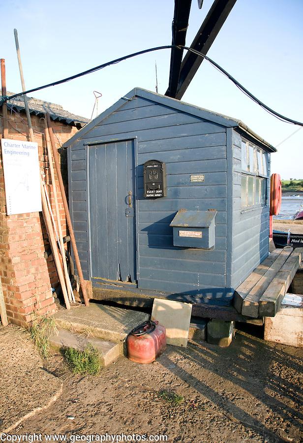 Old quayside shed, Woodbridge, Suffolk, England