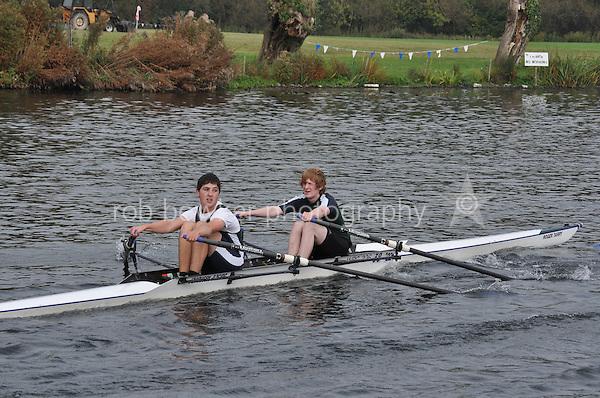 219 WRG .Reading Rowing Club Small Boats Head 2011. Tilehurst to Caversham 3,300m downstream. Sunday 16.10.2011