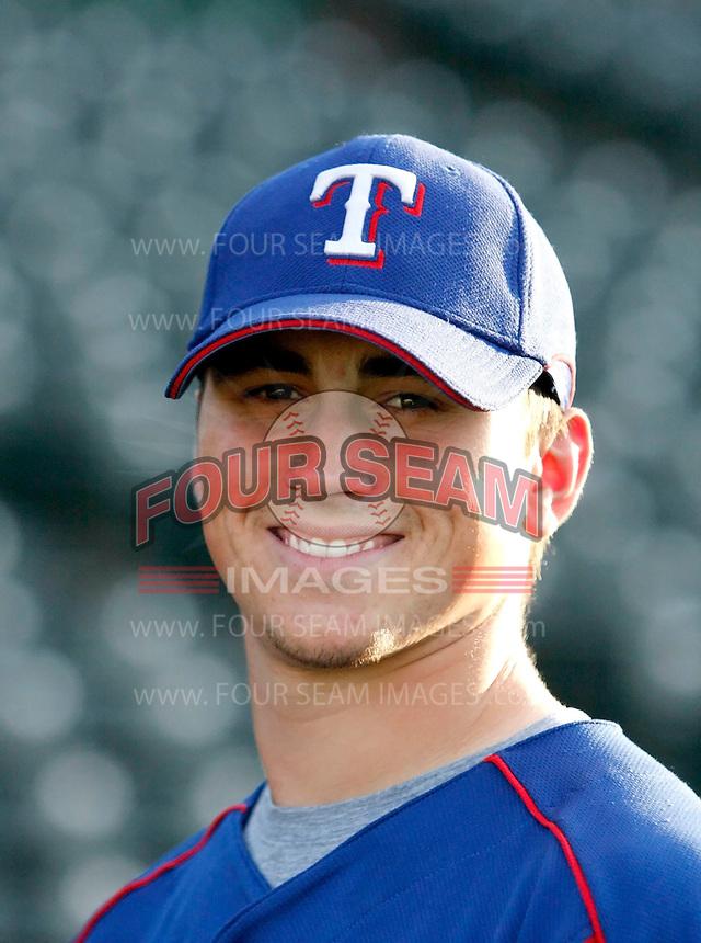 Matt Thompson / AZL Rangers..Photo by:  Bill Mitchell/Four Seam Images