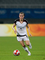 Heather O'Reilly. The USWNT defeated Canada in extra time, 2-1, during the 2008 Beijing Olympics in Shanghai, China.