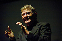 ERMANNO OLMI IN THE PICTURE THE ITALIAN FILM DIRECTOR ERMANNO OLMI BRESCIA 23/11/2011 PHOTO MATTEO BIATTA