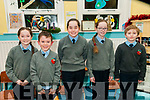 75th Anniversary: Pictured at the 75th anniversary of the  opening of Lenamore National School, Ballylongford on Thursday night last were Hazel Keane, Sean O'Scanlan, Ruby & Krystal Keane & Nick Green.