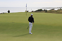 Martin Kaymer (GER) on the 4th during Round 2 of the Alfred Dunhill Links Championship 2019 at Kingbarns Golf CLub, Fife, Scotland. 27/09/2019.<br /> Picture Thos Caffrey / Golffile.ie<br /> <br /> All photo usage must carry mandatory copyright credit (© Golffile | Thos Caffrey)