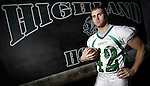 Highland's Aaron Maslowski is the 2009 Gazette MVP in football. (RON SCHWANE / GAZETTE)