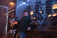 Goosebumps 2: Haunted Halloween (2018) <br /> Caleel Harris &amp; Jeremy Ray Taylor<br /> *Filmstill - Editorial Use Only*<br /> CAP/MFS<br /> Image supplied by Capital Pictures