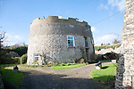 Martello Tower Q dating from the Napoleonic War converted to residential property, Felixstowe, Suffolk, England
