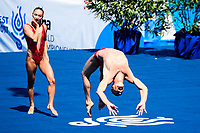 MAY Bill SPENDLOVE Kanako Kitao USA Bronze Medal <br /> Duet Technical Final<br /> Synchronised swimming , Synchro<br /> 17/07/2017 <br /> XVII FINA World Championships Aquatics<br /> City Park - Varosliget Lake<br /> Budapest Hungary <br /> Photo Andrea Staccioli/Deepbluemedia/Insidefoto